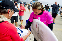 September 12, 2017 - Lakey Peterson of the USA after winning Heat 6 of Round Two of the Swatch Pro at Trestles, CA, USA...Swatch Pro 2017, California, USA - 12 Sep 2017 (Credit Image: © Rex Shutterstock via ZUMA Press)
