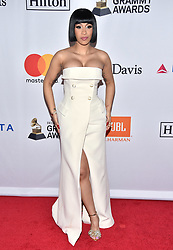 Cardi B attends the Clive Davis and Recording Academy Pre-GRAMMY Gala and GRAMMY Salute to Industry Icons Honoring Jay-Z on January 27, 2018 in New York City.. Photo by Lionel Hahn/ABACAPRESS.COM