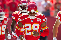September 7, 2014: Kansas City Chiefs strong safety Eric Berry (29) during the NFL American Football Herren USA game between the Tennessee Titans and the Kansas City Chiefs at Arrowhead Stadium in Kansas City, Missouri. Tennessee defeated the Chiefs 26-10 NFL American Football Herren USA SEP 07 Titans at Chiefs PUBLICATIONxINxGERxSUIxAUTxHUNxRUSxSWExNORxONLY Icon140907185<br /> <br /> September 7 2014 Kansas City Chiefs Strong Safety Eric Berry 29 during The NFL American Football men USA Game between The Tennessee Titans and The Kansas City Chiefs AT Arrowhead Stage in Kansas City Missouri Tennessee defeated The Chiefs 26 10 NFL American Football men USA Sep 07 Titans AT Chiefs PUBLICATIONxINxGERxSUIxAUTxHUNxRUSxSWExNORxONLY Icon140907185