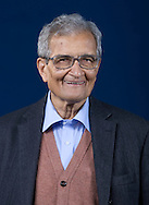 Eminent Indian economist and philosopher Amartya Sen, pictured at the Edinburgh International Book Festival where he talked about his new book entitled 'The Idea of Justice.' The three-week event is the world's biggest literary festival and is held during the annual Edinburgh Festival. The 2010 event featured talks and presentations by more than 500 authors from around the world.