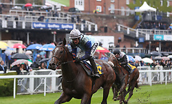 Sam Cooke ridden by Harry Bentley wins in the TMT Group Handicap during Boodles Ladies Day at Chester Racecourse.