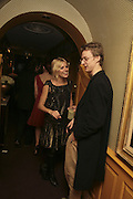 Sienna Miller,  Charles Finch and Chanel 7th Anniversary Pre-Bafta party to celebratew A Great Year of Film and Fashiont at Annabel's. Berkeley Sq. London W1. 10 February 2007. -DO NOT ARCHIVE-© Copyright Photograph by Dafydd Jones. 248 Clapham Rd. London SW9 0PZ. Tel 0207 820 0771. www.dafjones.com.