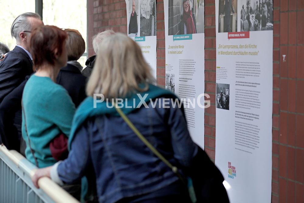 """Ausstellung """"40 Jahre Gorleben-Treck"""" der Bäuerlichen Notgemeinschaft Lüchow-Dannenberg im Kreishaus in Lüchow.<br /> <br /> Ort: Lüchow<br /> Copyright: Andreas Conradt<br /> Quelle: PubliXviewinG"""