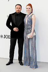 May 23, 2019 - Antibes, Alpes-Maritimes, Frankreich - Klemens Hallmann and Barbara Meier attending the 26th amfAR's Cinema Against Aids Gala during the 72nd Cannes Film Festival at Hotel du Cap-Eden-Roc on May 23, 2019 in Antibes (Credit Image: © Future-Image via ZUMA Press)
