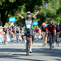 10-05-2015: Wielrennen: Amgen Tour of California: USA <br /> SACRAMENTO (USA) cycling <br /> Mark Cavendish wins the 1th stage round Sacramento and is becomes the first leader in this race.<br /> <br /> Mar