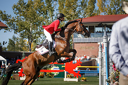 Madden Beezie, (USA), Simon<br /> BMO Nations Cup<br /> Spruce Meadows Masters - Calgary 2015<br /> © Hippo Foto - Dirk Caremans<br /> 12/09/15