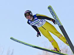05.02.2011, Heini Klopfer Skiflugschanze, Oberstdorf, GER, FIS World Cup, Ski Jumping, Probedurchgang, im Bild Anders Jacobsen (NOR) , during ski jump at the ski jumping world cup Trail round in Oberstdorf, Germany on 05/02/2011, EXPA Pictures © 2011, PhotoCredit: EXPA/ P. Rinderer