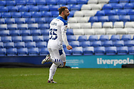 GOAL 1-0! Tranmere Rovers midfielder Danny Lloyd celebrates his goal during the EFL Sky Bet League 2 match between Tranmere Rovers and Bolton Wanderers at Prenton Park, Birkenhead, England on 23 January 2021.