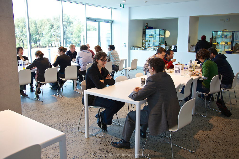 The Australian Synchrotron Cafe