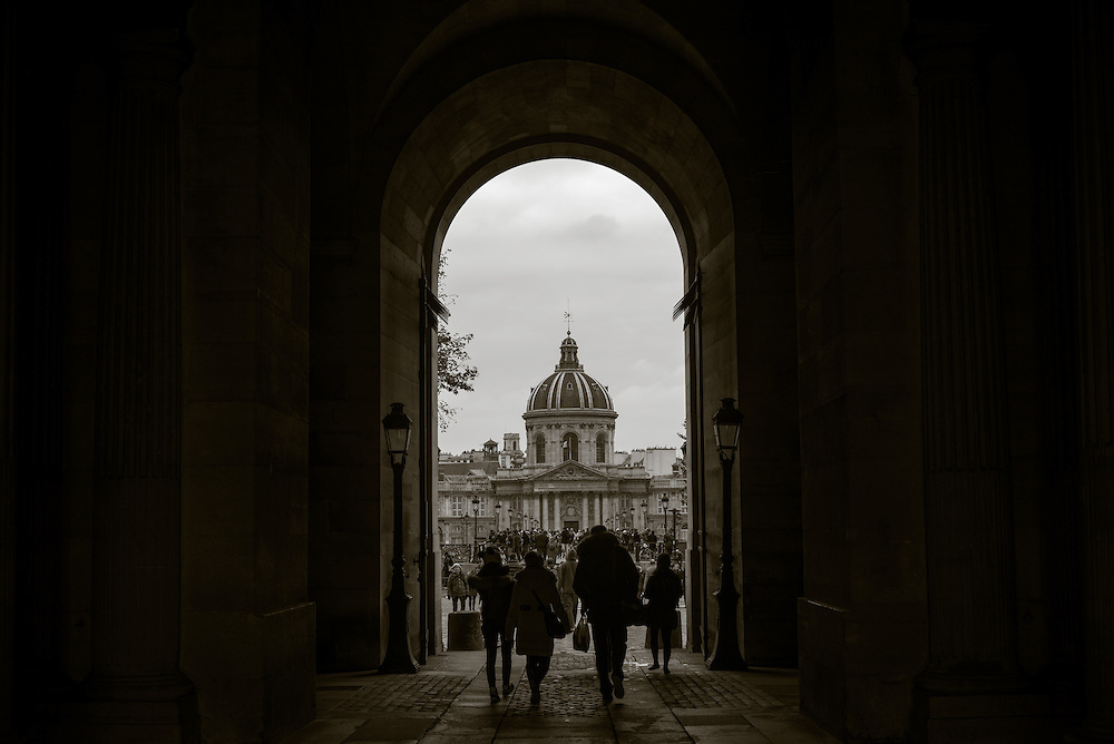 institute de France, Paris, France. November 24, 2013. Photograph ©2013 Darren Carroll