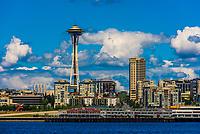 The Space Needle, Seattle, Washington USA.