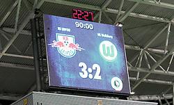 29.07.2011, Red Bull Arena, Leipzig, GER, DFB 1. Pokalrunde, RB Leipzig vs VFL Wolfsburg, im Bild.Endstand 3:2 nach 90 Minuten , Wolfsburg ist aus dem DFB-Pokal ausgeschieden / Anzeigetafel .// during the Pokal fight first Round from GER, Leipzig vs VFL Wolfsburg on 2011/07/29, Red Bull Arena, Leipzig, Germany..EXPA Pictures © 2011, PhotoCredit: EXPA/ nph/  Hessland       ****** out of GER / CRO  / BEL ******
