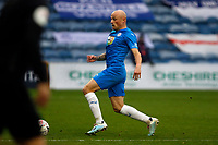 Sam Minihan. Stockport County FC 3-2 Yeovil Town FC. Emirates FA Cup Second Round. Edgeley Park. 29.11.20