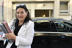 June 2, 2017 - Brussels, BELGIUM - Minister of Energy, Environment and Sustainable Development Marie-Christine Marghem pictured during a Minister's council meeting of the Federal Government in Brussels, Friday 02 June 2017. ..BELGA PHOTO DIRK WAEM (Credit Image: © Dirk Waem/Belga via ZUMA Press)