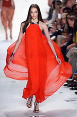 Diane Von Furstenberg show at New York Fashion Week S/S 2013