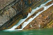 Cameron Falls<br /> Waterton Lakes National Park<br /> Alberta<br /> Canada