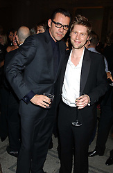 Left to right, ROLAND MOURET and CHRISTOPHER BAILEY at the 2005 British Fashion Awards held at The V&A museum, London on 10th November 2005.<br /><br />NON EXCLUSIVE - WORLD RIGHTS
