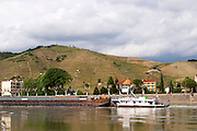 the Hermitage hill and  tain l hermitage rhone france
