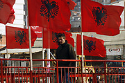 Kosovo 1 day before 1st Independence Anniversary<br /> Kacanik,(southern) Kosovo<br /> Monday, 16 February 2009<br /> <br /> One day before the birthday of Kosovo Independence declaration, proclaimed on February 17th 2008, Kosovo Albanians are ready to celebrate, but most of them feel skeptic regarding to any development in Kosovo, as has been declared US assistant Secretary of State Stewart Jones.<br /> ìNo, in Kosovo 1 year after Independence doesnít happen anything, weíre still jobless thereís no work for you if you donít have any relative in any governance of Kosovoî said Latif VLASHI an young by 25th who already has a BA degree of Political sciences.<br /> <br /> Dailies report that the U.S Deputy Assistant Secretary of State Stewart Jones, in an interview for Radio Free Europe, said that the Kosovo population and Government have reason to be proud on the anniversary of their independence. <br /> <br /> ìIt has been a year full of tremendous work and achievements,î he said. ìWe have seen the new Constitution, dozens of laws endorsed, kilometers of paved roads, dozens of schools built,î Steward Jones is quoted as saying.<br /> <br /> ìSpeaking on behalf of the United States, I say that we are proud to have been part of this process,î Jones is quoted as saying.   Asked about the north of Kosovo, Jones said that the U.S. is working through EULEX and other international structures to resolve differences in order for Kosovoís Government to exercise authority in the entire territory of the country. <br /> <br /> ?The backflashes from Serbia<br /> <br /> But on the other side, President of Serbia stated on Saturday that Kosovo is ìthe most sensitive issue for Serbia, but also in regional politics and European security.î<br /> <br /> ìSerbia will never recognize Kosovoís independence and while respecting its international rights and legitimate interests, it will protect its integrity in Kosovo through legal means, in  front of the International Court of Justice,î said 