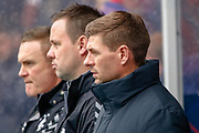 Rangers Manager Steven Gerrard during the Ladbrokes Scottish Premiership match between Rangers and Kilmarnock at Ibrox, Glasgow, Scotland on 16 March 2019.