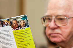 Pensioner in supported housing