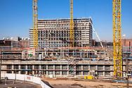 Germany, Cologne, the construction site of the building project MesseCity Koeln near the exhibition center in the district Deutz.<br /> <br /> Deutschland, Koeln, Baustelle des Grossprojektes MesseCity Koeln neben dem Messegelaende.