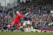 Jay Bothroyd of Cardiff City in action. Coca cola championship, Cardiff City v Nottingham Forest at Ninian Park in Cardiff on Sat 31st Jan 2009..pic by Andrew Orchard, Andrew Orchard sports photography,