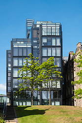 View of new Quartermile luxury residential property development in Edinburgh, Scotland, UK.