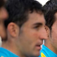 Nederland, Rotterdam, 01-07-2010.<br /> Tour de France, Ploegenpresentatie.<br /> Alberto Contador, tweevoudig Tour winnaar en kopman van de Astana wielerploeg.<br /> Foto : Klaas Jan van der Weij
