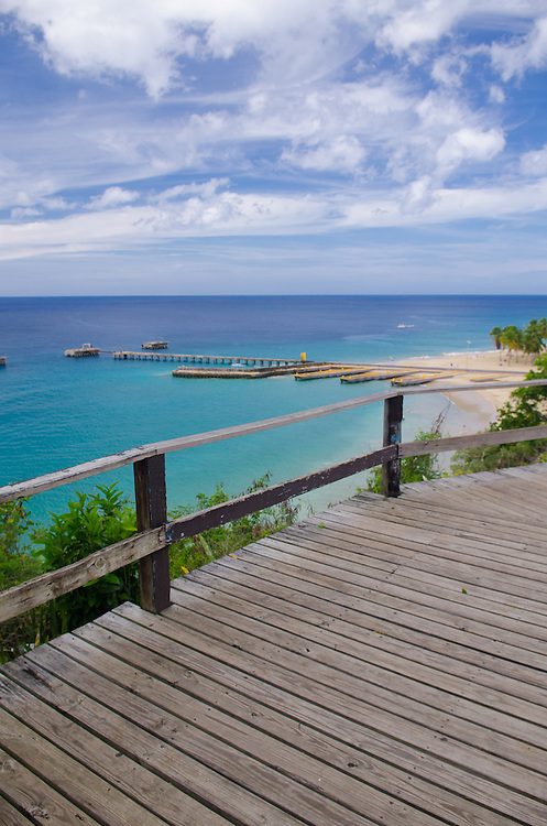 Crash Boat Beach in Aguadilla, Puerto Rico, West Coast, Playa Crash Boat,