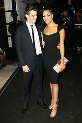 © Licensed to London News Pictures. Luke Thompson and  Cush Jumbo attending the London Evening Standard Theatre Awards at the The Savoy Hotel in London, UK on 17 November 2013. Photo credit: Richard Goldschmidt/PiQtured/LNP