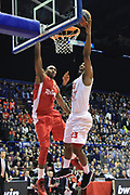 DESCRIZIONE : Milano Eurolega Euroleague 2013-14 EA7 Emporio Armani Milano Olympiacos Piraeus<br /> GIOCATORE : Langford keith<br /> CATEGORIA : Tiro<br /> SQUADRA :  EA7 Emporio Armani Milano<br /> EVENTO : Eurolega Euroleague 2013-2014 GARA : EA7 Emporio Armani Milano Olympiacos Piraeus<br /> DATA : 09/01/2014 <br /> SPORT : Pallacanestro <br /> AUTORE : Agenzia Ciamillo-Castoria/I.Mancini<br /> Galleria : Eurolega Euroleague 2013-2014 <br /> Fotonotizia : Milano Eurolega Euroleague 2013-14 EA7 Emporio Armani Milano Olympiacos Piraeus <br /> Predefinita