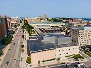 Along University Avenue, Madison, Wisconsin, USA.