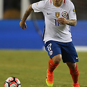 FOXBOROUGH, MASSACHUSETTS - JUNE 10:  Gary Medel #17 of Chile in action during the Chile Vs Bolivia Group D match of the Copa America Centenario USA 2016 Tournament at Gillette Stadium on June 10, 2016 in Foxborough, Massachusetts. (Photo by Tim Clayton/Corbis via Getty Images)
