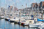 Jachthaven van Scheveningen, Den Haag - The marina of Scheveningen, The Hague, The Netherlands
