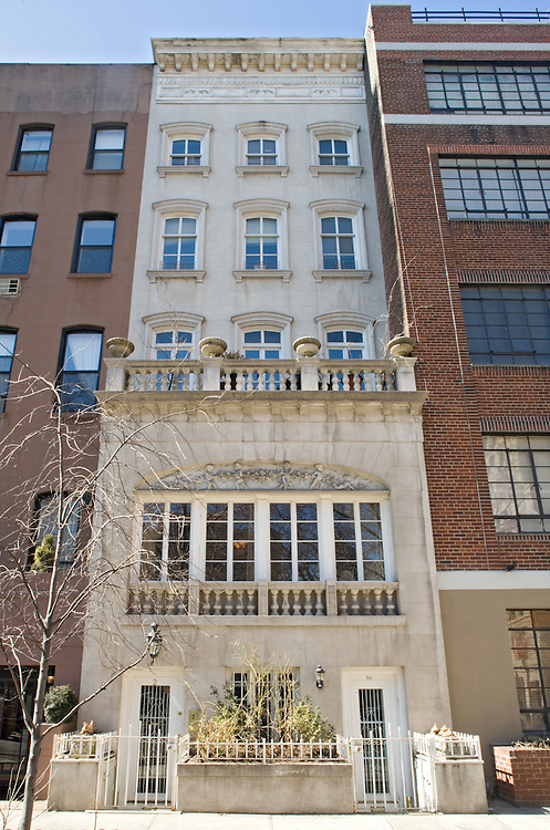 The Manhattan townhome of musician Mick Jones of the rock band Foreigner.