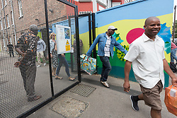 © Licensed to London News Pictures.05/08/2015. London, UK. General views of the Kids Company centre in Kenbury Street, south east London today. The youth charity, the Kids Company led by Camila Batmanghelidjh is reportedly due to close this week after being hit by financial impropriety and sex abuse claims. Photo credit : Vickie Flores/LNP
