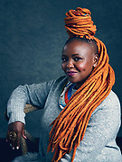 Muthoni Drummer Queen, TED Fellow. TED2019: Bigger Than Us. April 15 - 19, 2019, Vancouver, BC, Canada. Photo: Bret Hartman / TED