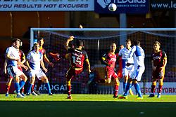 Kelvin Mellor of Bradford City fires wide - Mandatory by-line: Ryan Crockett/JMP - 29/09/2018 - FOOTBALL - Northern Commercials Stadium - Bradford, England - Bradford City v Bristol Rovers - Sky Bet League One
