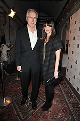 Left to right, JEREMY KING and LAUREN GURVICH at a party to celebrate the launch of the CLub Monaco brand at Browns held at the Royal Academy of Art, Piccadilly, London on 19th February 2011.