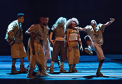 Blak Whyte Gray is a dance creation by urban choreographer Kenrick 'H2O' Sandy and producer/composer Michael 'Mikey J' Asante. The production runs from 16 - 19 August 2017 at The Lyceum Theatre in Edinburgh as part of the Edinburgh International Festival.