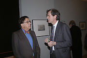 Norman Kurland and Mark Jones. Jacob van Ruisdael: Masters of Landscape. 21 February 2006. ONE TIME USE ONLY - DO NOT ARCHIVE  © Copyright Photograph by Dafydd Jones 66 Stockwell Park Rd. London SW9 0DA Tel 020 7733 0108 www.dafjones.com
