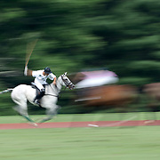 Hilario Ulloa, White Birch, in action during the White Birch Vs K.I.G Polo match in the Butler Handicap Tournament match at the Greenwich Polo Club. White Birch won the game 11-8. Greenwich Polo Club,  Greenwich, Connecticut, USA. 12th July 2015. Photo Tim Clayton