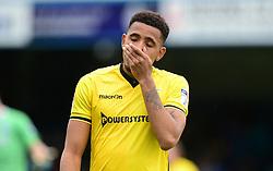 Cristian Montano of Bristol Rovers looks dejected.  - Mandatory by-line: Alex James/JMP - 14/04/2017 - FOOTBALL - MEMS Priestfield Stadium - Gillingham, England - Gillingham v Bristol Rovers - Sky Bet League One