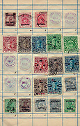 A collection of old postage and revenue stamps from India Anchal post was the early postal service started in the kingdom of Travancore and Cochin before Independence of India Philately is the study of postage stamps and postal history.