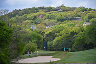 Lucas Bjerregaard (DEN), left,  looks over his approach shot on 3 during day 2 of the WGC Dell Match Play, at the Austin Country Club, Austin, Texas, USA. 3/28/2019.<br /> Picture: Golffile | Ken Murray<br /> <br /> <br /> All photo usage must carry mandatory copyright credit (© Golffile | Ken Murray)