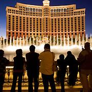 The Bellagio Hotel and Casino in Las Vegas, Nevada