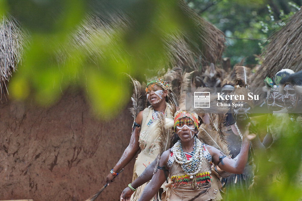 Kikuyu people (Gikuyu), Aberdare National Park, Kenya