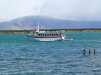 Fishing Boat in Pureto Natales Harbor. Image taken with a Leica D-Lux 5 camera