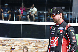 August 10, 2018 - Brooklyn, Michigan, United States of America - Kurt Busch (41) hangs out on pit road prior to qualifying for the Consumers Energy 400 at Michigan International Speedway in Brooklyn, Michigan. (Credit Image: © Justin R. Noe Asp Inc/ASP via ZUMA Wire)